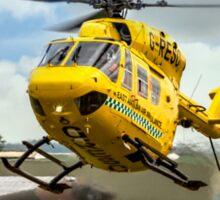 MBB BK.117C-1 G-RESC Air Ambulance arrival Sticker