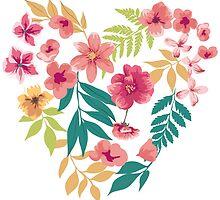 Flower Heart by junkydotcom