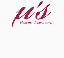 Love Live! Make our dreams alive! Womens Fitted T-Shirt