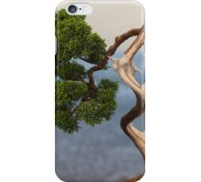 bonsai in the garden iPhone Case/Skin