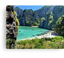 The Beach, Thailand Canvas Print