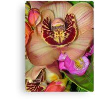 Byron Bouquet Canvas Print