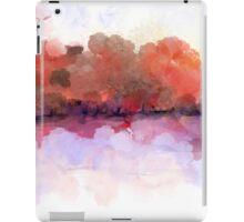 Simply Beautiful Landscape in Red iPad Case/Skin