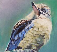 Kookaburra Ponderings by Jaana Day