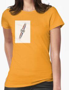 Herbie 53 beatle bug Womens T-Shirt