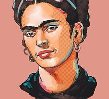 Frida Kahlo by Cori Redford