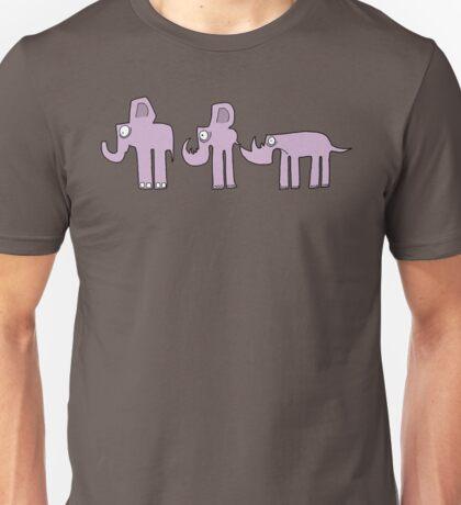 Genetically wrong Elephants Unisex T-Shirt