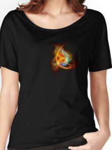 G-Clef Flame Women's Relaxed Fit T-Shirt