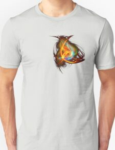 G-Clef Flame Unisex T-Shirt