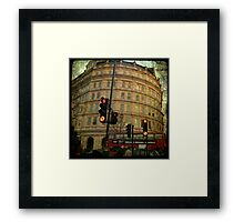 london Trafalgar square Framed Print