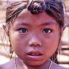 Lahu girl, northern Laos by John Spies
