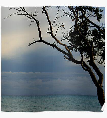 mullet bay dusk Poster