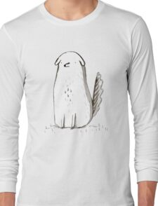 Sitting Dog Long Sleeve T-Shirt