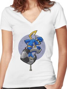 Sly Cooper 2 Women's Fitted V-Neck T-Shirt