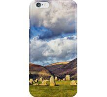 Castlerigg Stone Circle iPhone Case/Skin