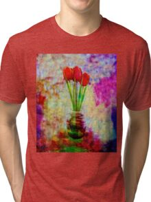 Three Tulips Tri-blend T-Shirt