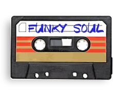 Funky Soul - Cassette Tape Canvas Print