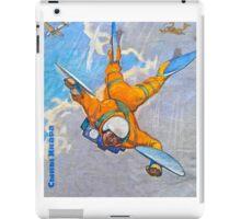 Future flying man- Russian 1960's iPad Case/Skin