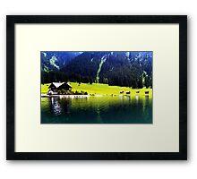 Austrian Alps Framed Print