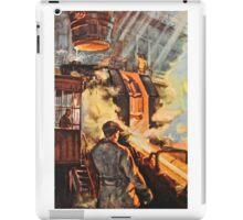 Steel works - Russian 1960's iPad Case/Skin