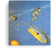 Lost in space 2 Canvas Print