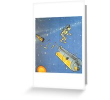 Lost in space 2 Greeting Card