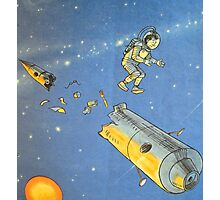 Lost in space 2 Photographic Print