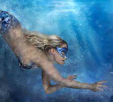 Blue Mermaid by SarahSchloo