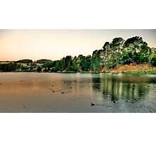 On Golden Pond - Lake Samwell , Beechworth Victoria - The HDR Experience Photographic Print
