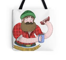 Coffee and Bacon Tote Bag