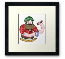 Coffee and Bacon Framed Print