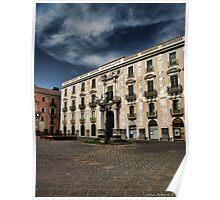 Palazzo San Giuliano, Catania Poster