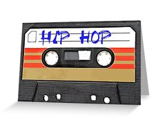 Hip Hop  Cassette tape Greeting Card