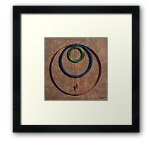 Gravity One Framed Print