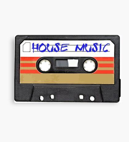 House Music Canvas Print