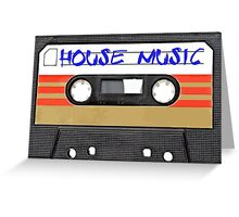 House Music Greeting Card