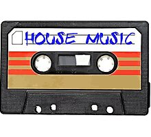 House Music Photographic Print