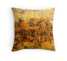 Hues of Gold Throw Pillow