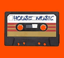 House Music Cassette Tape - Cool phone case Kids Clothes