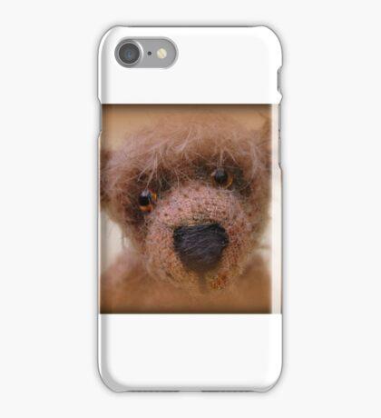 Bear face - Handmade bears from Teddy Bear Orphans iPhone Case/Skin