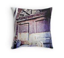 Urban Grunge Throw Pillow
