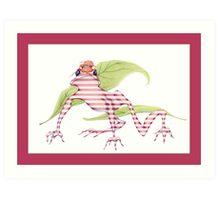 Magicked Frog Art Print