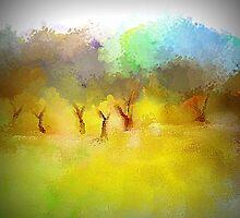 Soft Mornings Landscape by Jessielee72