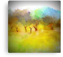 Soft Mornings Landscape Canvas Print