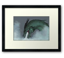 Frost Breath Framed Print