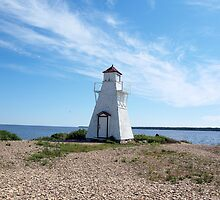 lighthouse view by Cheryl Dunning