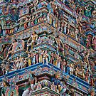 hindu temple by steveault
