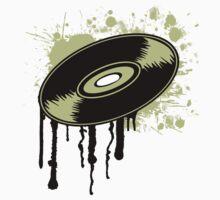 Vinyl Splatter Baby Tee