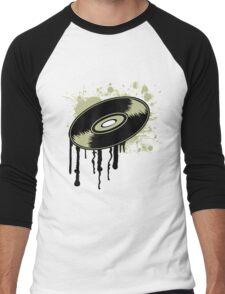 Vinyl Splatter Men's Baseball ¾ T-Shirt