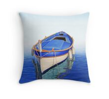 Off the Mist Throw Pillow